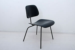 Image Is Loading Early DCM Eames Plywood Chair Metal Frame Jan