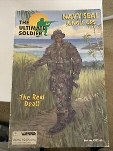 21ST CENTURY TOYS THE ULTIMATE SOLDIER 1:6 NAVY SEALS JUNGLE OPS