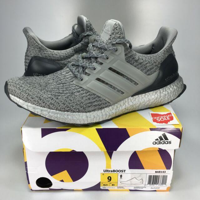 buy popular e7611 e1088 Adidas Ultra Boost 3.0 Silver Size 9 BA8143 black white grey 1 2 4 pack ub  nmd