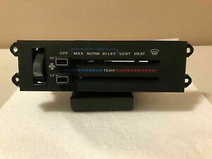 1987-1996 Jeep Cherokee XJ Heater A/C Climate Control Fan ...