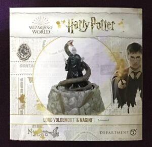 NEW Department 56 Lord Voldemort & Nagini Wizarding World Harry Potter Village