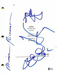 SEINFELD-FULL-CAST-X4-SIGNED-AUTOGRAPH-SOUP-NAZI-FULL-EPISODE-SCRIPT-JERRY