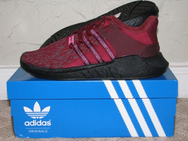 free shipping 6718e 14960 adidas Originals EQT Support 93/17 Burgundy - Europe Colorway Ac8169 9.5