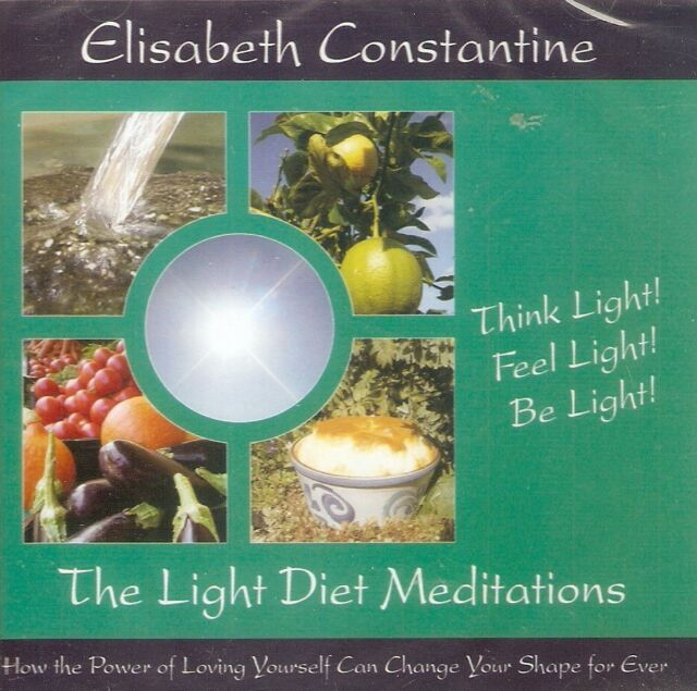 Elisabeth Constantine - The Light Diet Meditations (CD A/Book 2005) *NEW/SEALED*
