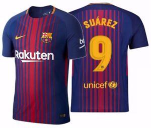 newest collection 31769 c3781 Details about NIKE LUIS SUAREZ FC BARCELONA AUTHENTIC VAPOR MATCH HOME  JERSEY 2017/18.
