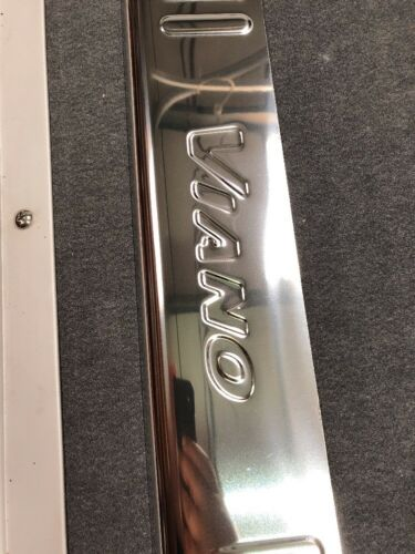 MERCEDES Viano Bumper Protector Stainless Steel Rolled Edge  2004-2014