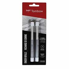 Tombow 57316 Mono Zero Eraser Refills Round 23mm 2 Pack