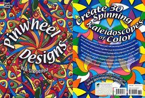 Pinwheel Designs Dover Design Coloring Books Paperback Adult ...