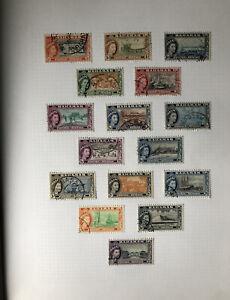 Bahamas Bermuda Grenada Stamp Album