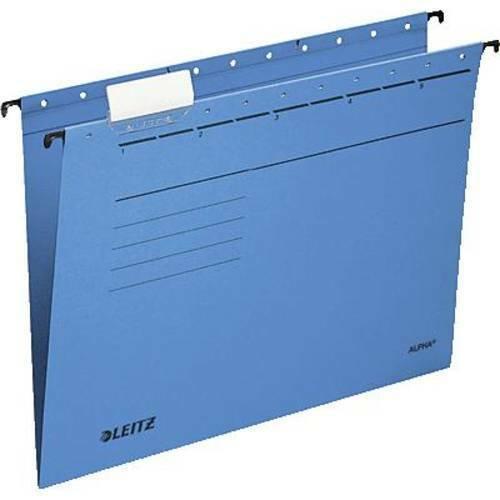Leitz cartella sospesa 19853035 blu 1 conf