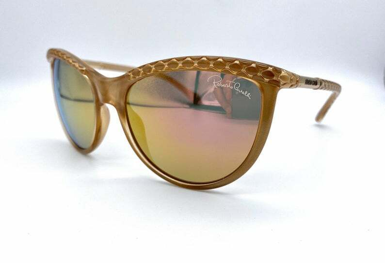 Roberto Cavalli MOD. Paradise 873 S Vintage Cateye Sunglasses Made in Italy NOS
