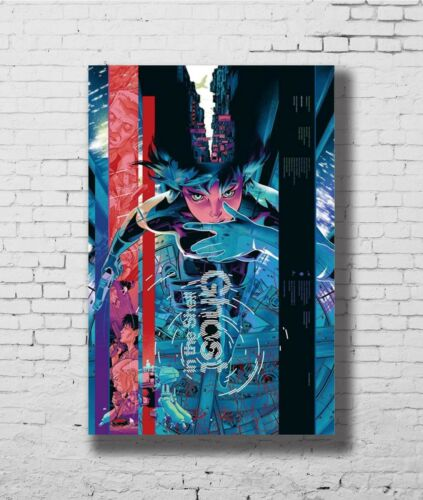 24x36 14x21 Poster Ghost In The Shell Fight Riot Police Anime Movie Art P-1400