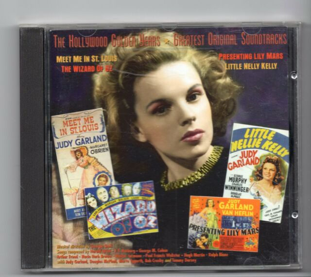 (JF242) Judy Garland, The Hollywood Golden Years - 1995 CD