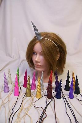 custom UNICORN HORN MLP Cosplay your color choice fantasy fairy costume