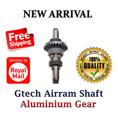 Cog Bearing Gtech AirRam Vacuum Cleaners Shaft Spindle with Aluminium Gear
