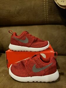 Nike 654493 Toddler Child Infant Rosherun High Top Sneakerboot Shoes Boots