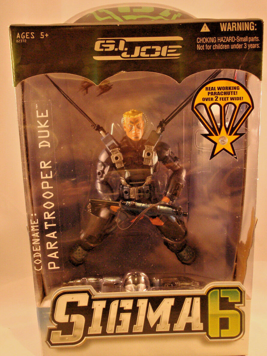 GI Joe Sigma Six 6 Paratrooper Duke 8