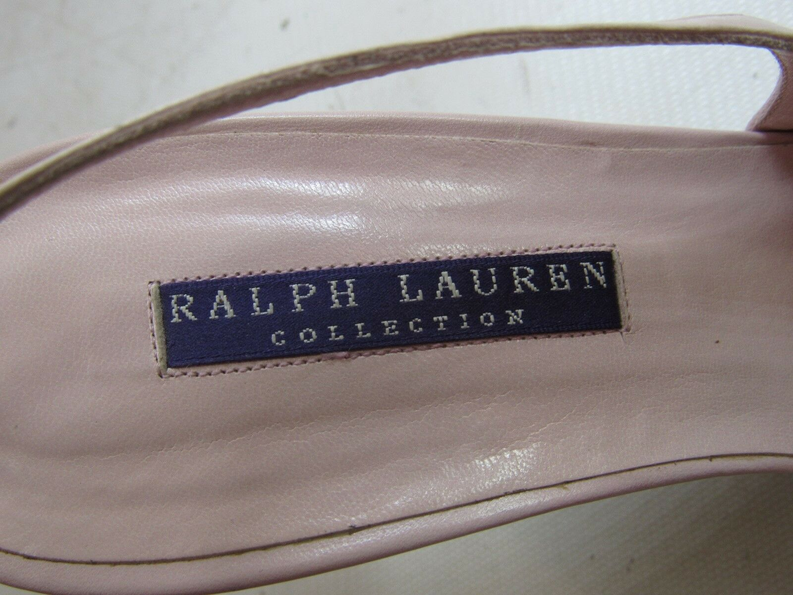 Ralph Charol Lauren Morado Label Rosa y Negro Charol Ralph Tacones B 5f9dd5