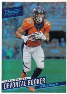 2017-Panini-Prestige-Xtra-Points-Platinum-25-190-Devontae-Booker-Broncos