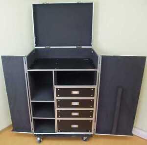 Universal-Schubladen-Case-DPC-1-TISCH-amp-PULT-Tourcase-Werkzeug-Comptuer-Wagen