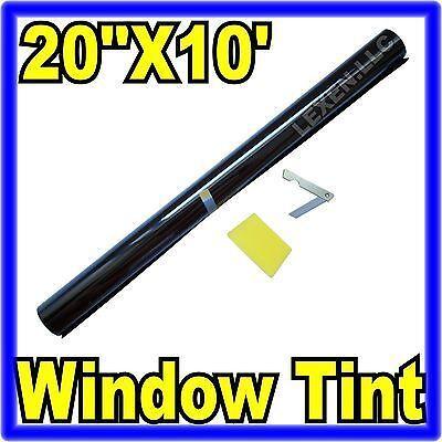 "20"" X 10FT ROLL 20% DARK SHADE WINDOW TINTING FILM TINT UNCUT 20""x10' 20% c"