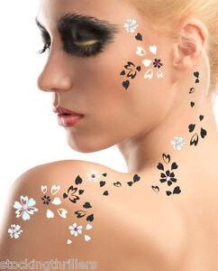 ADDTTOO-Designer-Temporary-Tattoo-Swarovski-Crystals-Unusual-Body-Face-Art