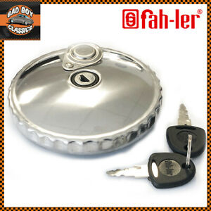 Locking Fuel Tank Cap Stainless Steel For MERCEDES 200 1976-1985 300 W123