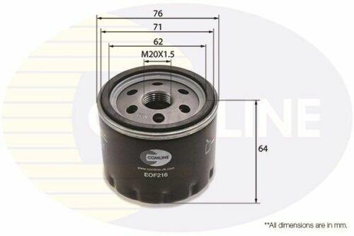 /> 14 F9Q760 Diesel el FL JL Comline Filtro De Aceite Para Renault Trafic II 1.9 01