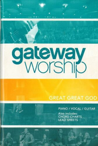 Great Great God by Gateway Worship Piano//Vocal//Guitar Print Songbook
