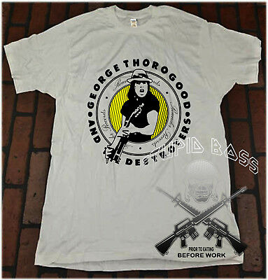 Vtg George Thorogood and the Destroyers tour REPRINT T SHIRT SIZE S-5XL #@#@