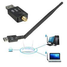 300Mbps Wireless Adapter 802.11b/g/n USB WiFi LAN Network Dongle + 5dBi Antenna