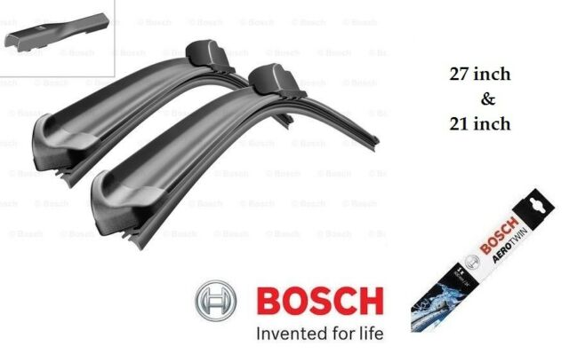 "Bosch Aerotwin Front Wiper Blade Set  27"" & 21"" (680 mm & 515 mm) - Audi Bentley"