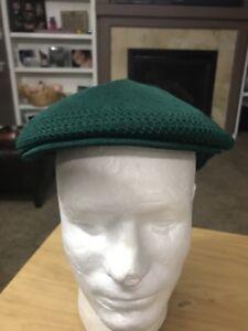 00aa4586982a Green Kangol Cabbie Paper Boy Sz S/M Cap Hat | eBay