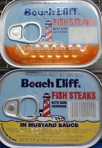Beach cliff fish steaks bite size herring your choice 10 for Beach cliff fish steaks