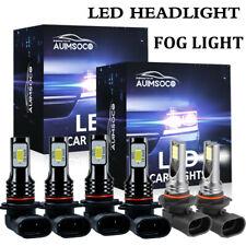 For Chevy Silverado 1500 2500 Hd 2003 2005 2006 Led Headlights Fog Lights Bulbs Fits 2005 Chevrolet Silverado 2500 Hd Ls