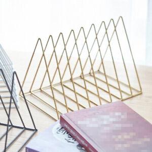 Desktop-Book-Storage-Rack-Iron-Triangular-Bookshelf-Organizing-Shelf-Bookcase