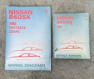 1992 Nissan 240SX 240 SX Service Repair Manual and Wiring Diagrams