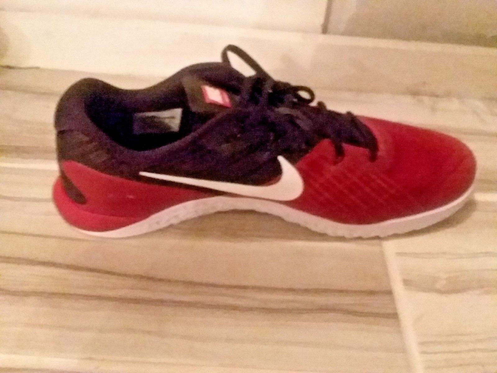 Men's Nike Metcon Metcon Metcon 3 TB Sz 10.5 Team Crimson/White/Black 898055-600 FREE SHIPPING 408c17