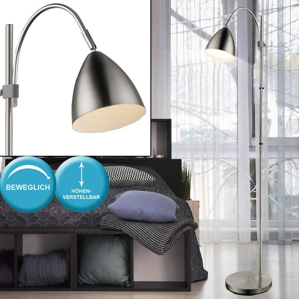 Stand lampe lampe de salon salon lecture stand lampe spot réglable en hauteur