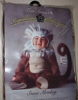 Tom Arma Infant Halloween Snow Monkey Costume 12-18 Months Medium Brand