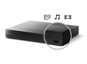 Sony BDP-S1700 Blu-Ray-Player - Schwarz