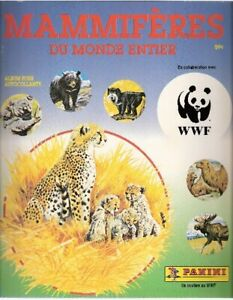 Mammiferi-1989-Album-Vuoto-Panini-Canada
