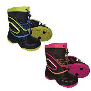 XTM-Buzz-Kids-Winter-Apres-Snow-Gum-Boots-Size-25-36-Euro