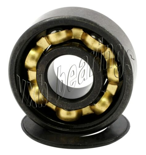 Coolest Set of Skateboard Bearings of Bronze Cage Sealed Black Ball Bearings