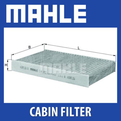 MAHLE Carbon Activated Pollen Air Filter LAK 852 - LAK852 Cabin Filter