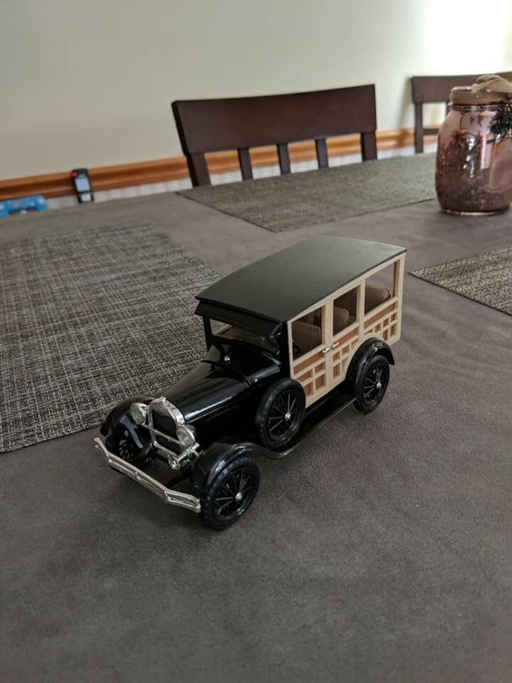 1929 ford model a woody.