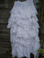 Osfa Boho Country Western Maxi Gypsy Rodeo Fairy Long Cotton Skirt Ritanotiara