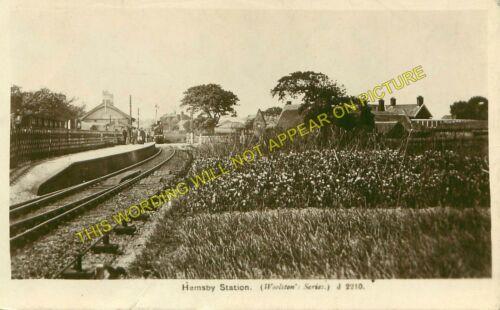 Martham Great Yarmouth Line. Hemsby Railway Station Photo Great Ormesby 1
