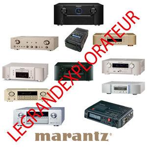 Ultimate  Marantz   Repair, Service manual & Bulletin   570 PDF manuals on DVD