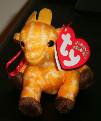 3.5 Inch MWMT Ty Jingle Beanie Baby ~ TWIGS the Giraffe